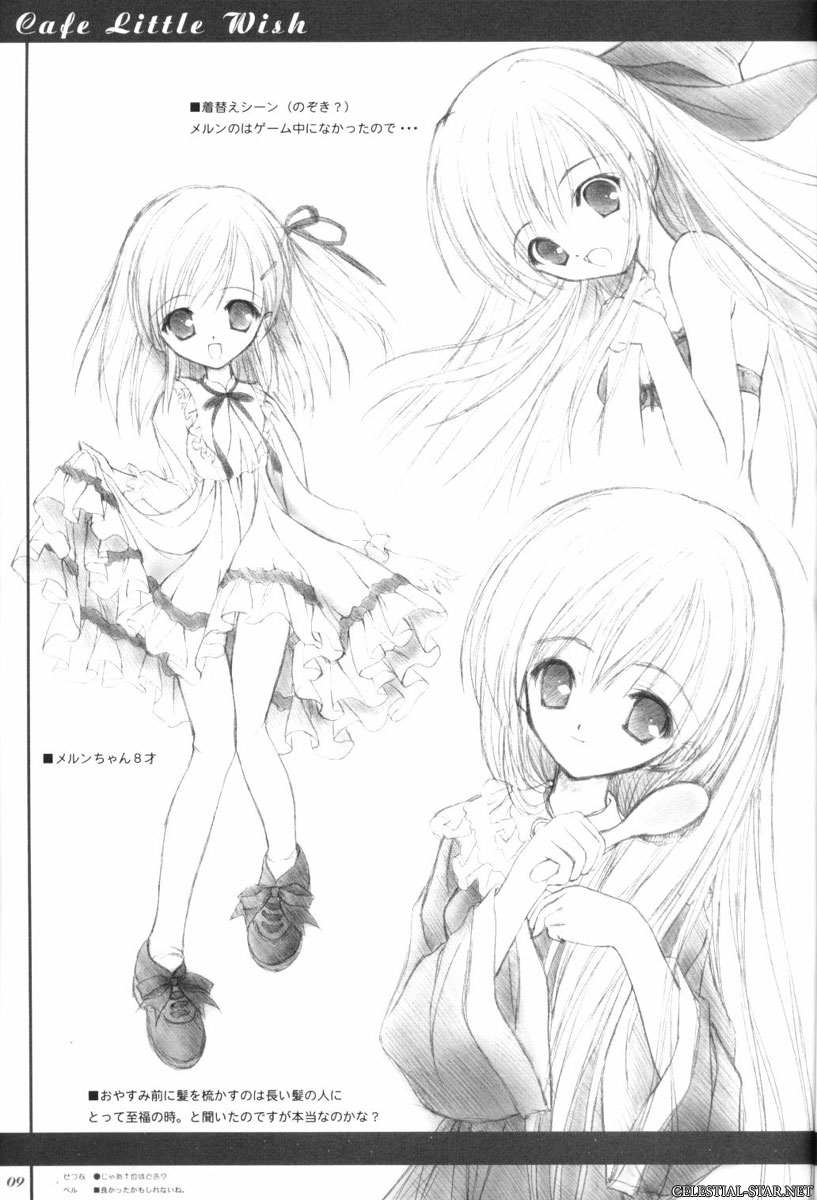 Cafe Little Wish Character Illustration Book Vol.1 image by Tinker Bell & More Prity