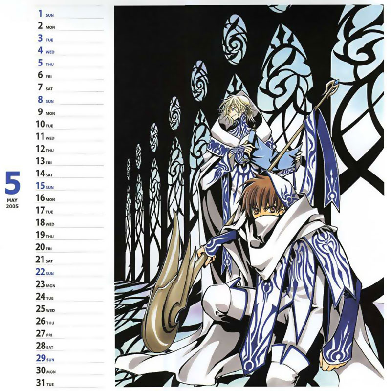 Clamp Calendar 2005 image by Clamp