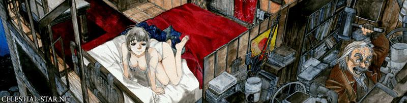 Kyouyou Illustrations image by Tsuruta Kenji