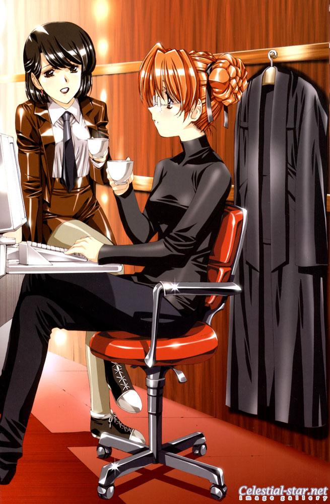 Satoshi Urushihara Illust.: Phi image by Satoshi Urushihara