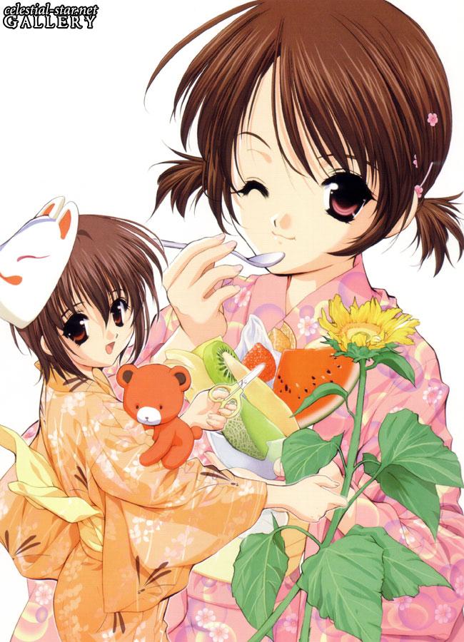 The art of Sister Princess image by Naoto Tenhiro