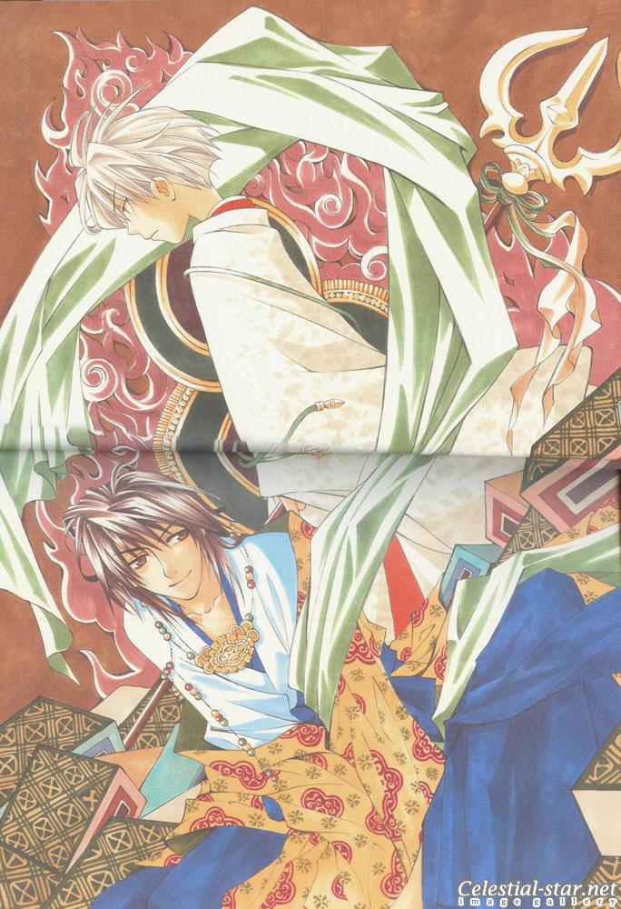 Tactics illustration works image by Kinoshita Sakura and Higashiyama Kazuko